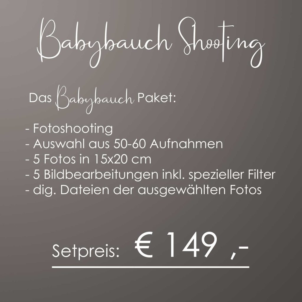 babybauch quadrat 1024x1024 - Portraitpreise